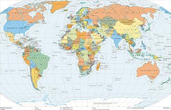 Azoren Karte Weltatlas.208 1 Politische Gliederung Schweizer Weltatlas
