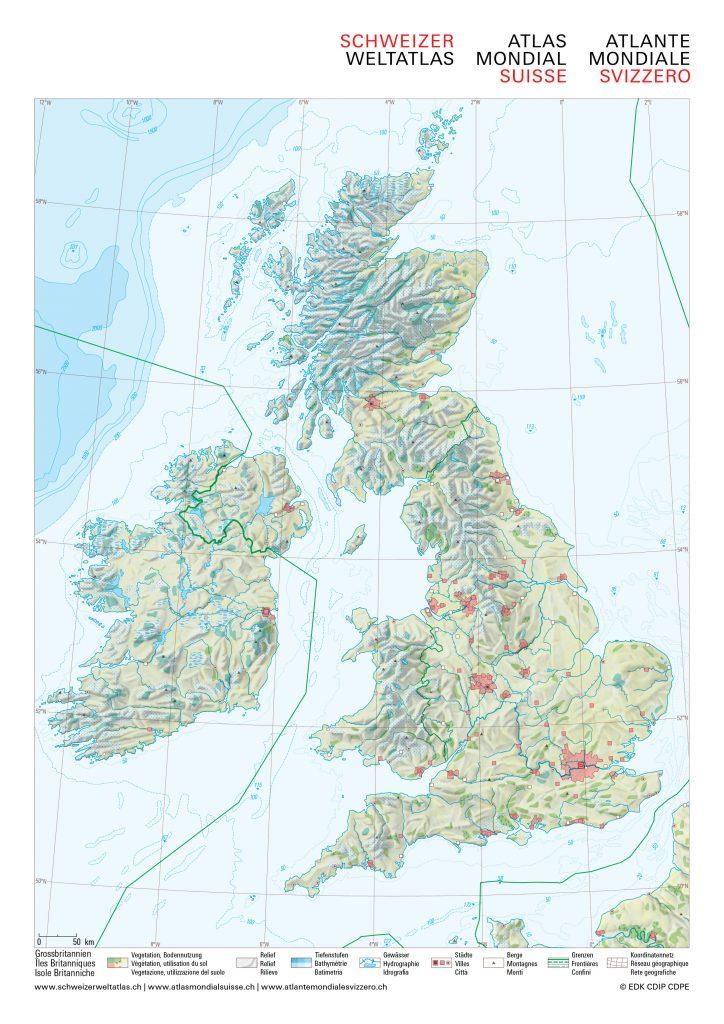 Stumme Karte Nordamerika.Informationen Zum Material Schweizer Weltatlas